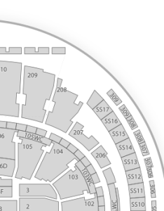 also madison square garden seating chart wwe  map seatgeek rh