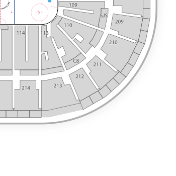 Bb t center interactive seating chart for Mercedes benz superdome layout