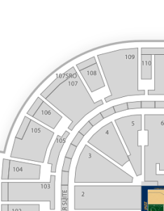 Arkansas music pavilion seating charts find tickets also chart seatgeek rh