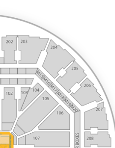 Oracle arena seating chart boxing also golden state warriors  map seatgeek rh