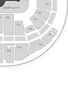 Verizon arena seating chart dance performance tour also concert  map seatgeek rh