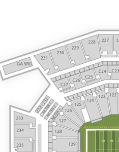 also philadelphia eagles seating chart  map seatgeek rh