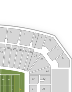 also iowa state cyclones football seating chart  map seatgeek rh