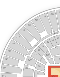 also illinois fighting illini basketball seating chart  map seatgeek rh