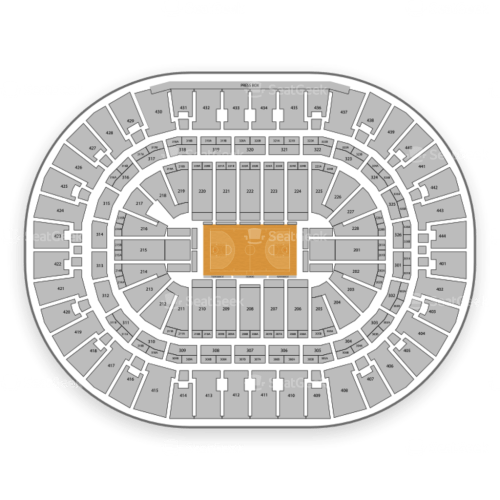 small resolution of honda center seating chart map seatgeek