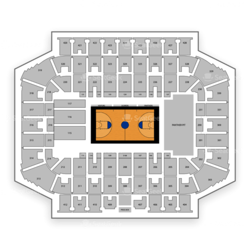 small resolution of panther seating diagram
