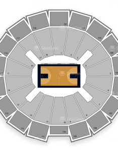 Notre dame fighting irish basketball seating chart also purcell pavilion at the joyce center  map seatgeek rh