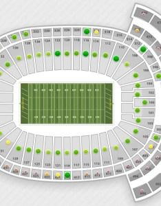 Lambeau field interactive seating chart also nfl charts  stadium maps tba rh seatgeek