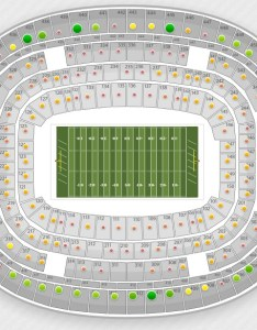 Nfl seating charts  stadium maps also tba rh seatgeek