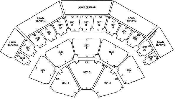 Marcus Amphitheater Summerfest Seating Chart Www