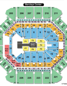 Barclays center wwe seating chart also brooklyn ny view rh seatingchartview