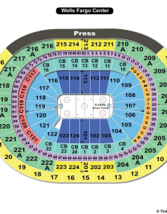 Wells fargo center hockey seating chart also philadelphia pa view rh seatingchartview
