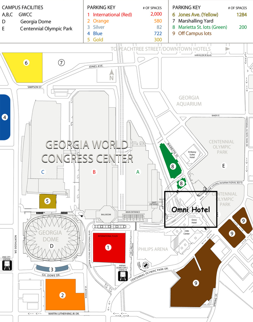 Georgia Dome Seating Map : georgia, seating, Georgia, Dome,, Atlanta, Seating, Chart