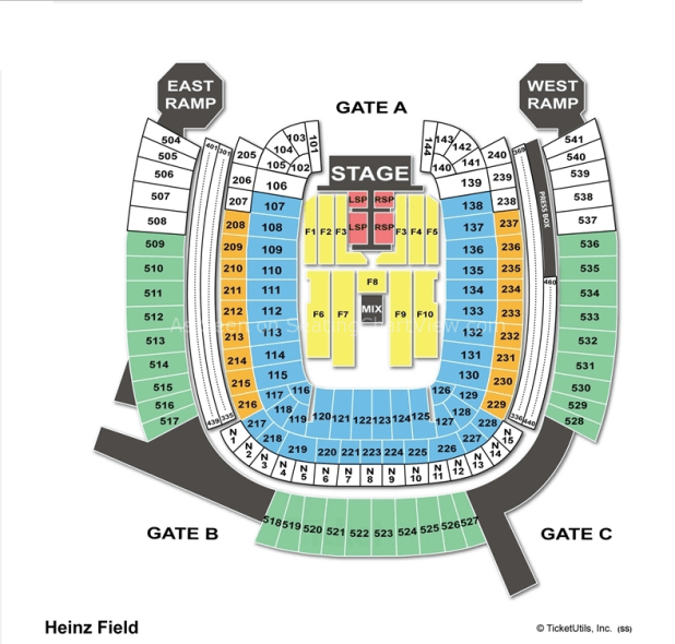 Heinz field seating chart row letters brokeasshome com