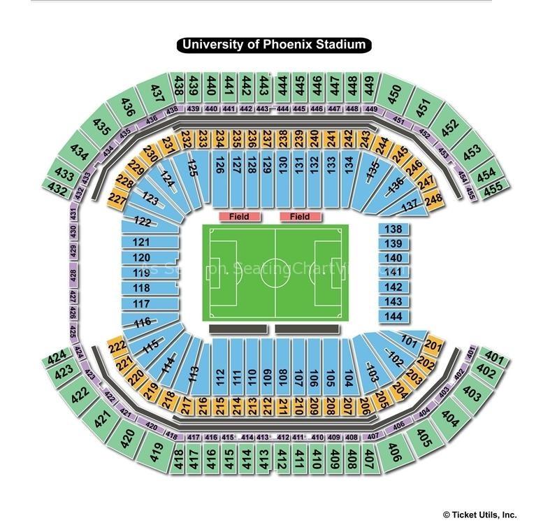 Phoenix stadium seating chart moren impulsar co