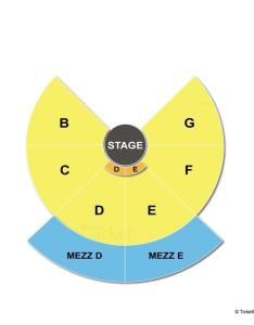 Nycb theatre at westbury half round seating chart also ny view rh seatingchartview