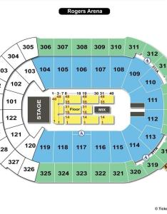 Rogers arena end stage concert seating chart also vancouver bc view rh seatingchartview