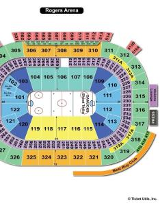 Rogers arena hockey seating chart also vancouver bc view rh seatingchartview
