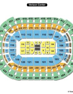 Verizon center concert seating chart stage also capital one arena washington dc view rh seatingchartview
