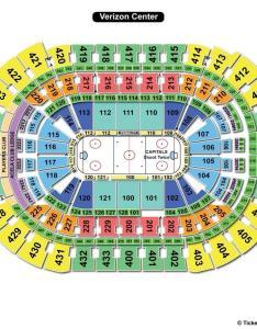 Verizon center hockey seating chart also capital one arena washington dc view rh seatingchartview