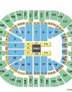 Vivint smart home arena wwe seating chart also salt lake city ut view rh seatingchartview