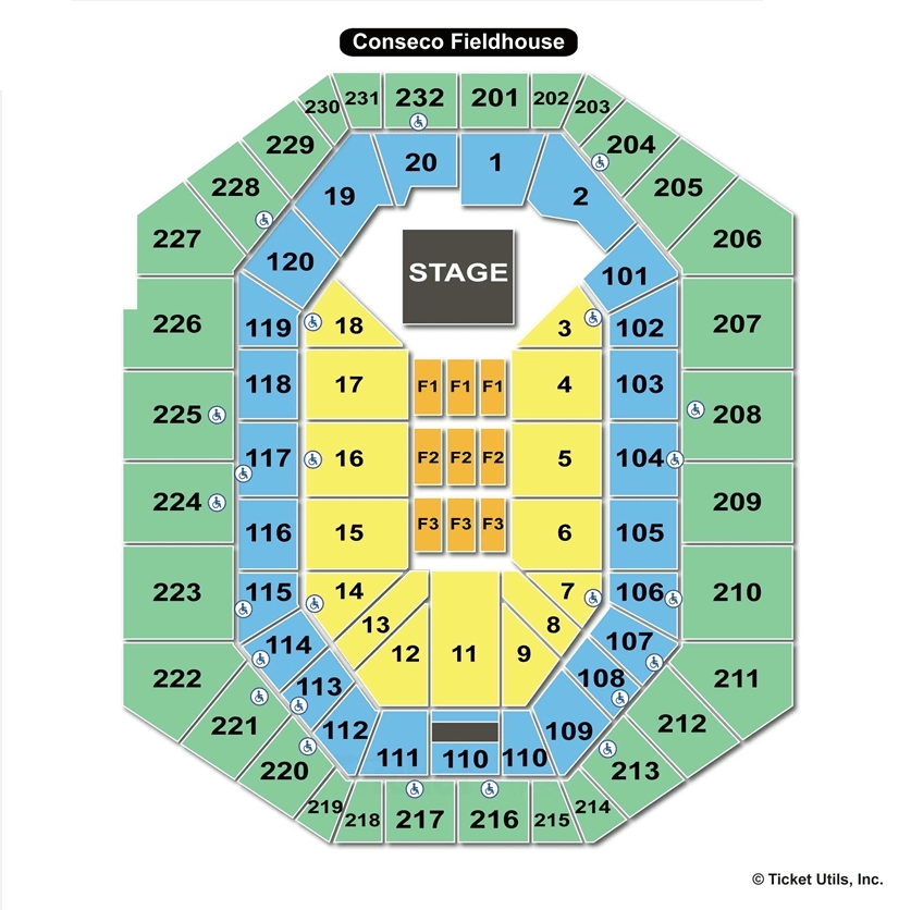 Bankers Life Seating Chart Wallseatco