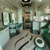 motorhome, camper, trailer, upholstered chairs