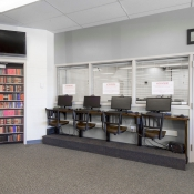 Innovative seating by Seating Innovations - Specialty, Commercial Use Application, Commercial Room, Traditional Style, Contessa 333 (Holland Chair), Black Finish, Oak Seat, Custom Height Height
