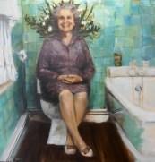 Grandma On Her Throne