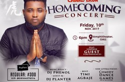 CHINKO EKUN HOMECOMING CONCERT