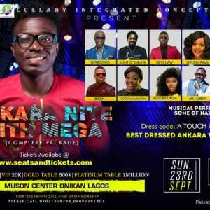 ANKARA NITE WITH MEGA