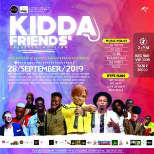 KIDDA AND FRIENDS CAMPUS STORM YABATECH INVASION