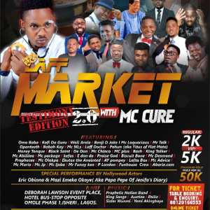 LAFF MARKET WITH MC CURE
