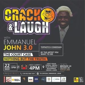 Crack and Laugh with Emmanuel John 3.0