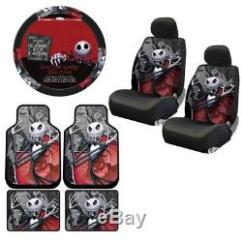 Christmas Chair Covers Ebay Leather Chairs Dining New Set Nightmare Before Floor Mats Seat Steering Wheel Cover