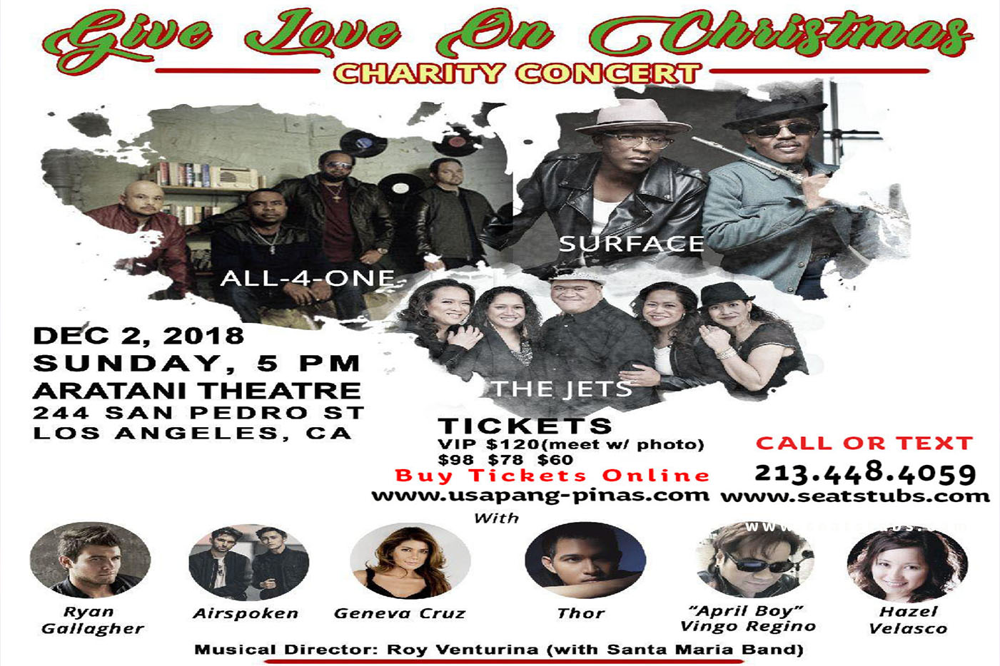 Give Love On Christmas Charity Concert