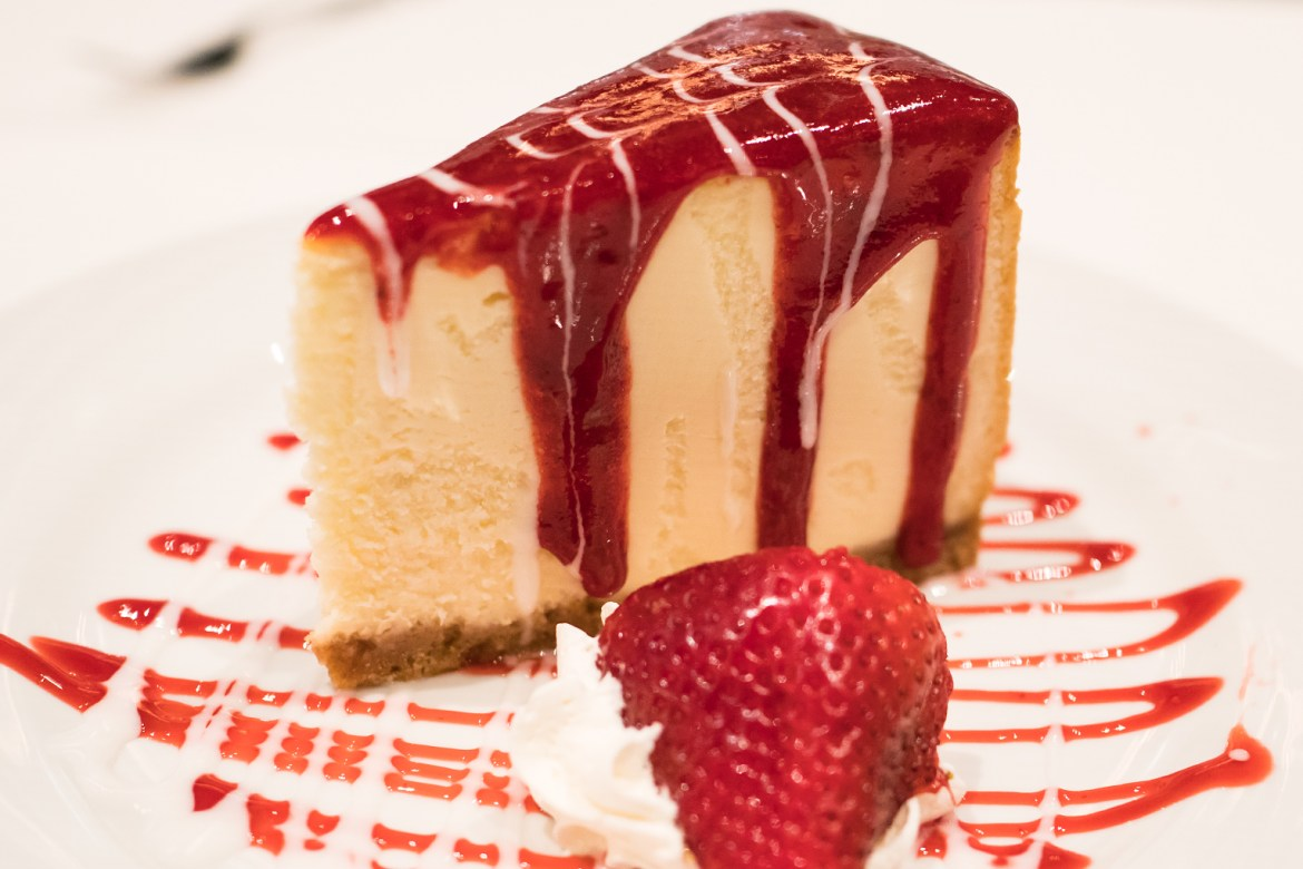 Fogo de Chao New York Cheesecake