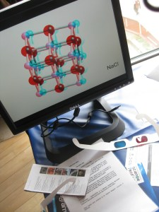Workshop: build 3D molecules and take home the printout