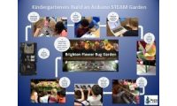 Kindergarten STEAM Flower and Bug Garden