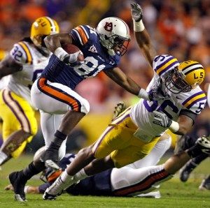Auburn LSU during action in the second quarter Saturday, Oct. 24, 2009 at Tiger Stadium in Baton Rouge, La. (Press-Register, G.M. Andrews) SPORTS