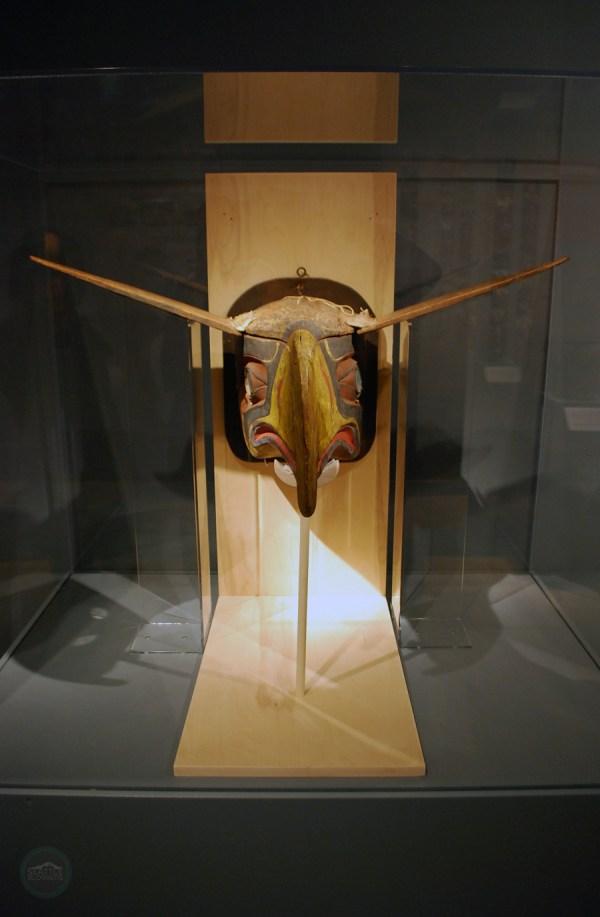 Mask Inspired Seahawks Logo Burke Museum