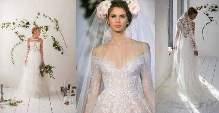 Hasil gambar untuk modern wedding dress