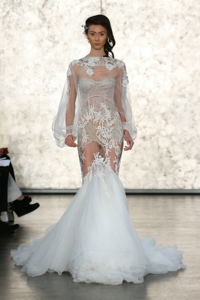 Barely There Bridal Gowns The Hottest Trend of 2016  Seattle Bride