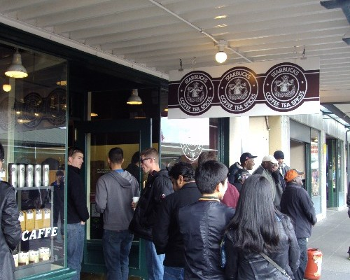 Seattle Coffee History: Our Favorite Tourist Trap… The First Starbucks