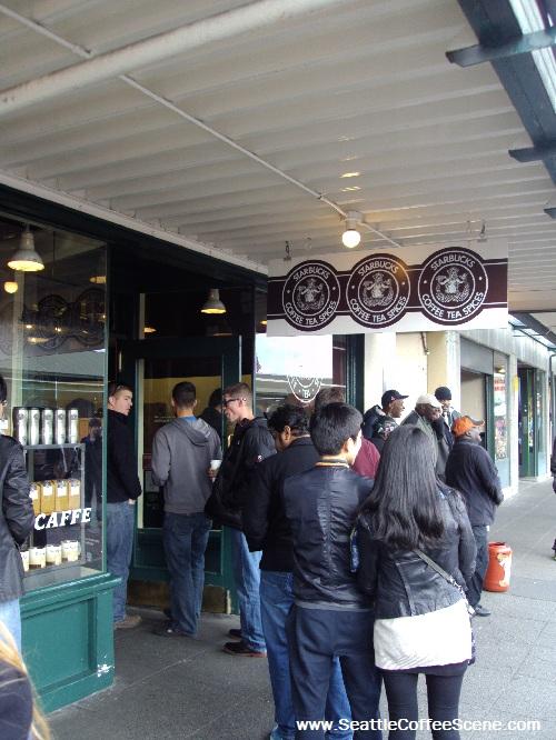 Starbucks Coffee Seattle - The First Starbucks