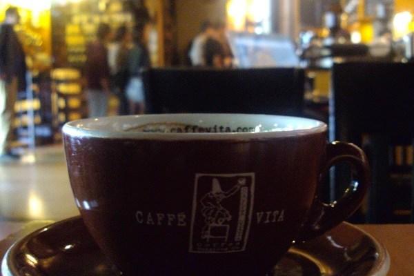 Seattle Coffee on Pike & Broadway: Caffe Vita on Capitol Hill