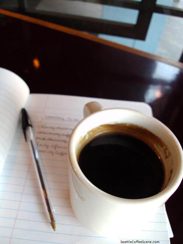 seattle coffee scene, seattle coffee shops, cafes in Seattle