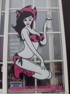 seattle coffee - bikini baristas
