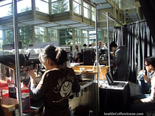 seattle coffee latte art competition