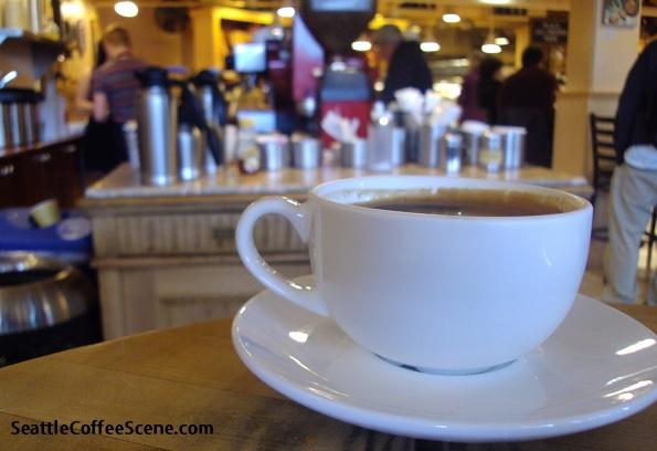 Le Panier, Coffee Scene, Pike Place Market, Coffee in Seattle